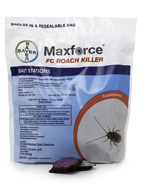 Maxforce FC Roach Bait Stations Fipronil