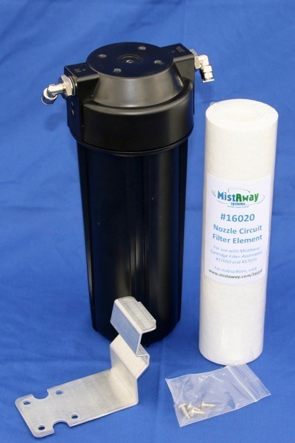 Mistaway Nozzle Circuit Filter Kit - Gen 1.3  Fits 55 gal